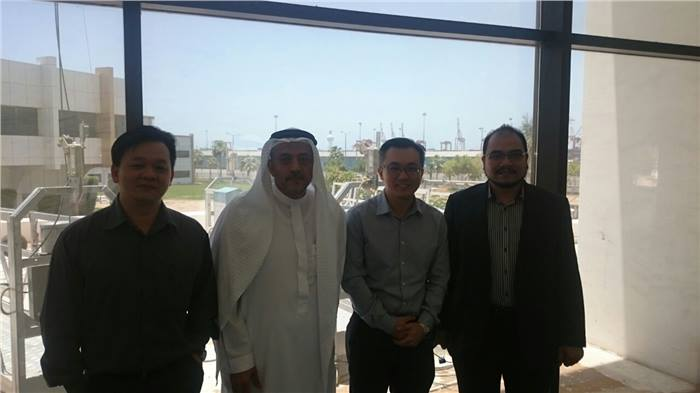 Visiting Jeddah Port